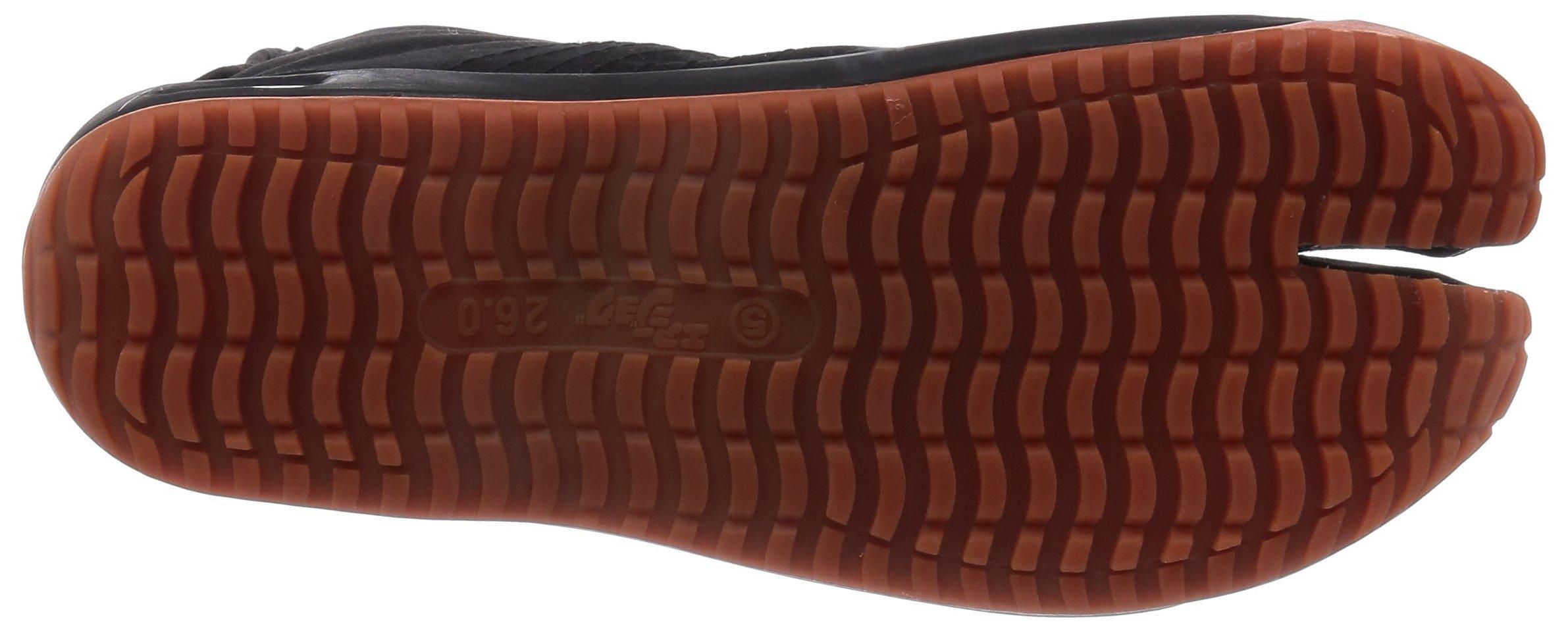 Ninja shoes, AIR JOG 6, Jika TabiSize: 25.0 cm (US size 7 ), Color: Black by Marugo (Image #5)