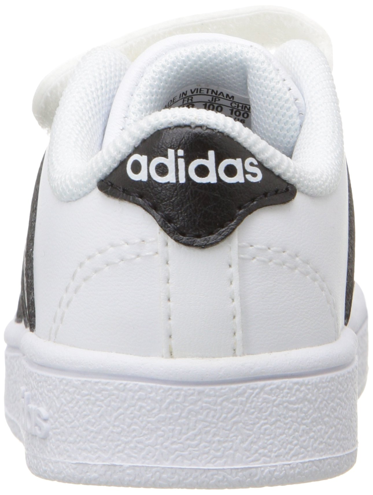 adidas Performance Baby Baseline Sneaker, White/Black/White, 6.5K M US Toddler by adidas (Image #2)