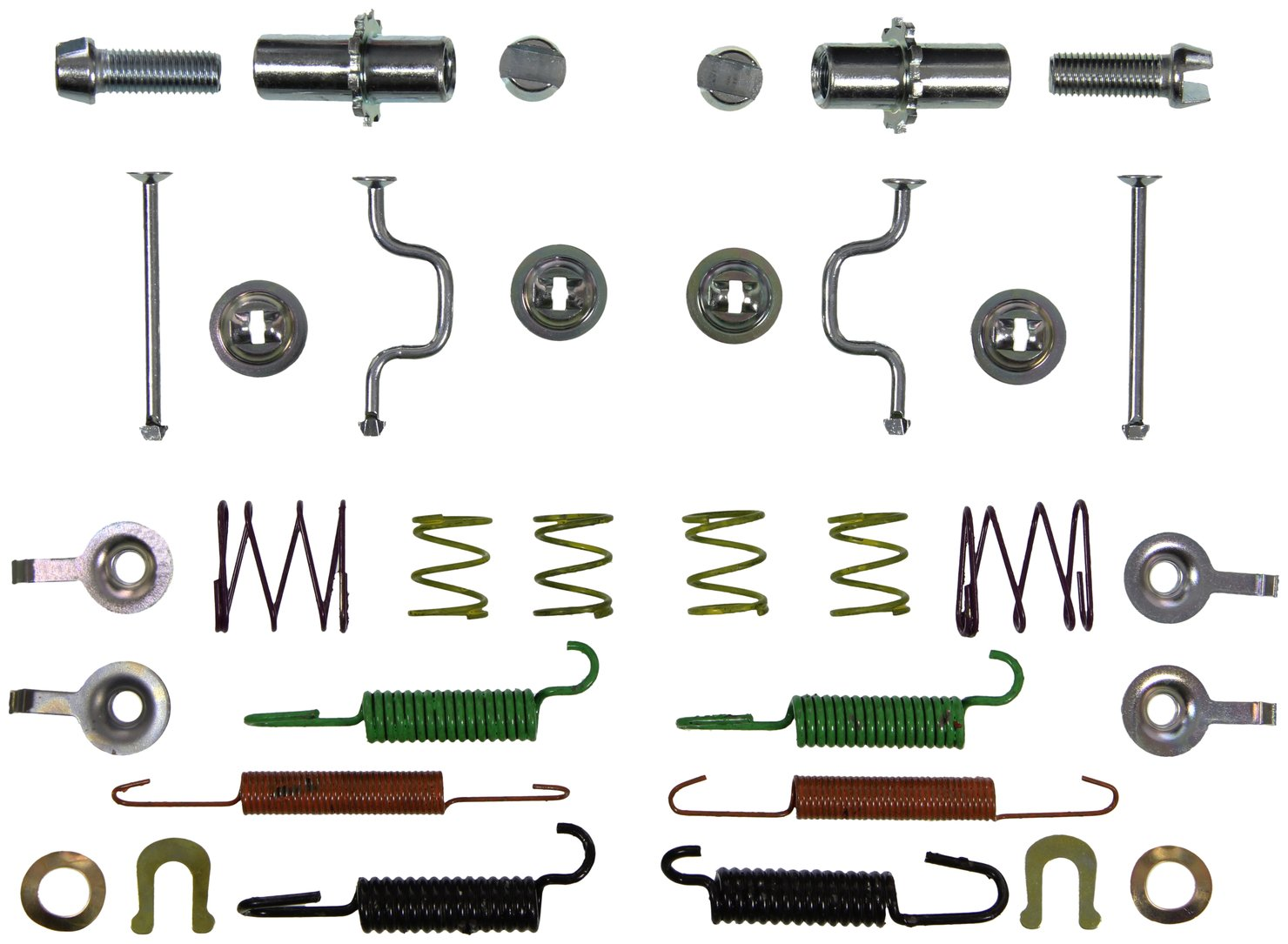 Wagner H17533 Parking Brake Hardware Kit, Rear
