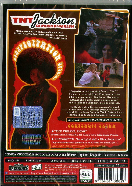 T.N.T. Jackson - La Furia Di Harlem [Italia] [DVD]: Amazon ...