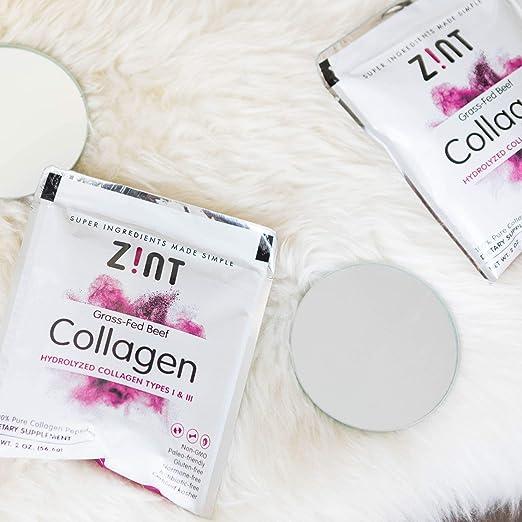 Zint Collagen Peptides Polvo (5 Servidores): Keto Antiedad ...