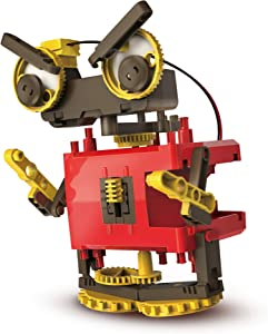 Elenco Teach Tech MotoBOT.4, Transforming Robot Kit, STEM Engineering Toys for Kids 8+