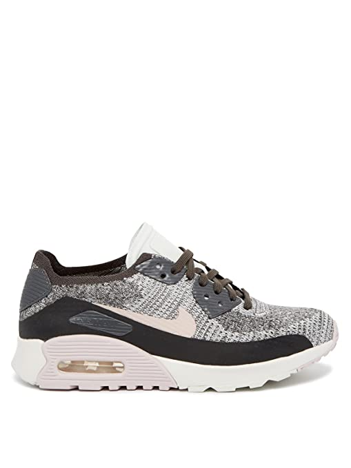 official photos 59dfa 686ac Nike Air Max 90 Zapatillas Flyknit Ultra 2.0, multicolor (midnight fog silt  red