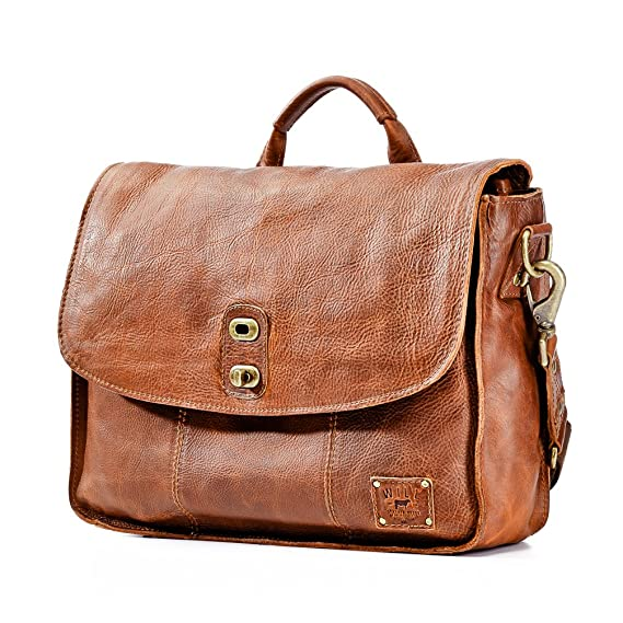 Will Leather Goods Mens Kent Messenger Bag - Tan  Amazon.co.uk  Clothing 5c8142c38f
