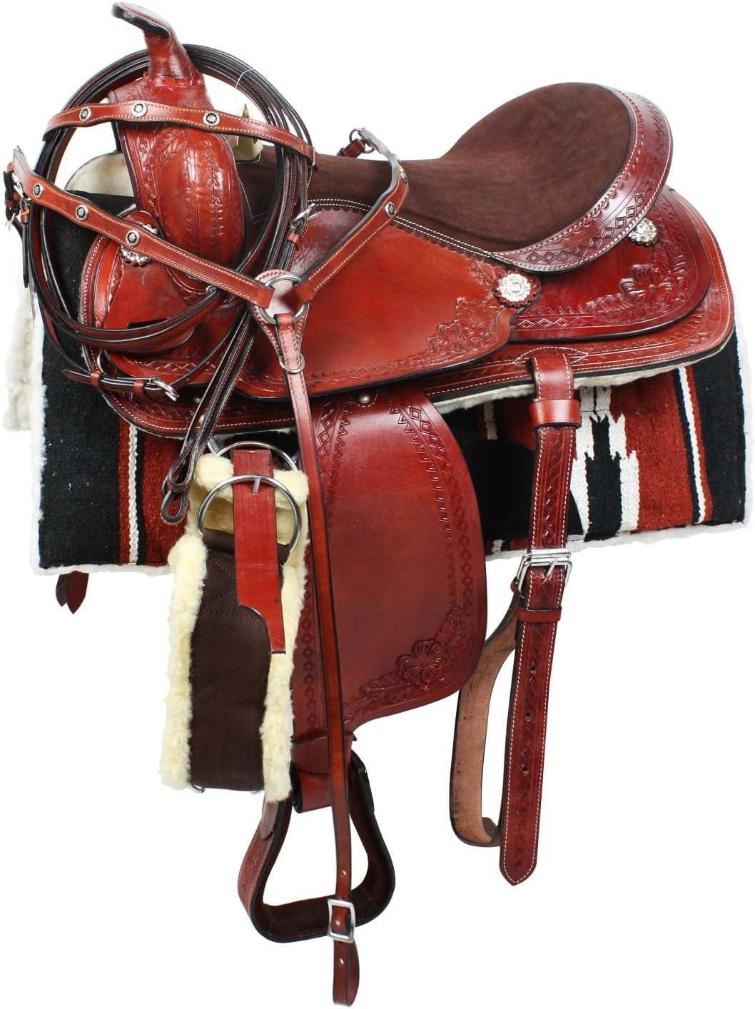 SilverStar sillín Western Amigo Completa