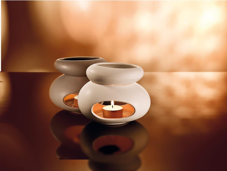 TU Tescoma Stones Fancy Home Diffusore di Aromi Ceramica Smaltata Grigio