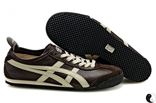 separation shoes 7418d bd6da Onitsuka Tiger Mexico 66 Fashion Sneaker,Coffee,37 M EUR/5 D ...