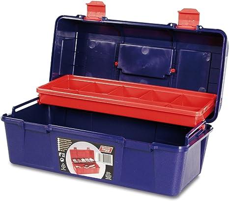 Tayg Caja de herramientas plástico n. 21, 310 X 160 X 130 mm: Amazon.es: Bricolaje y herramientas