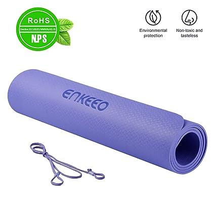 ENKEEO Esterillas de Yoga