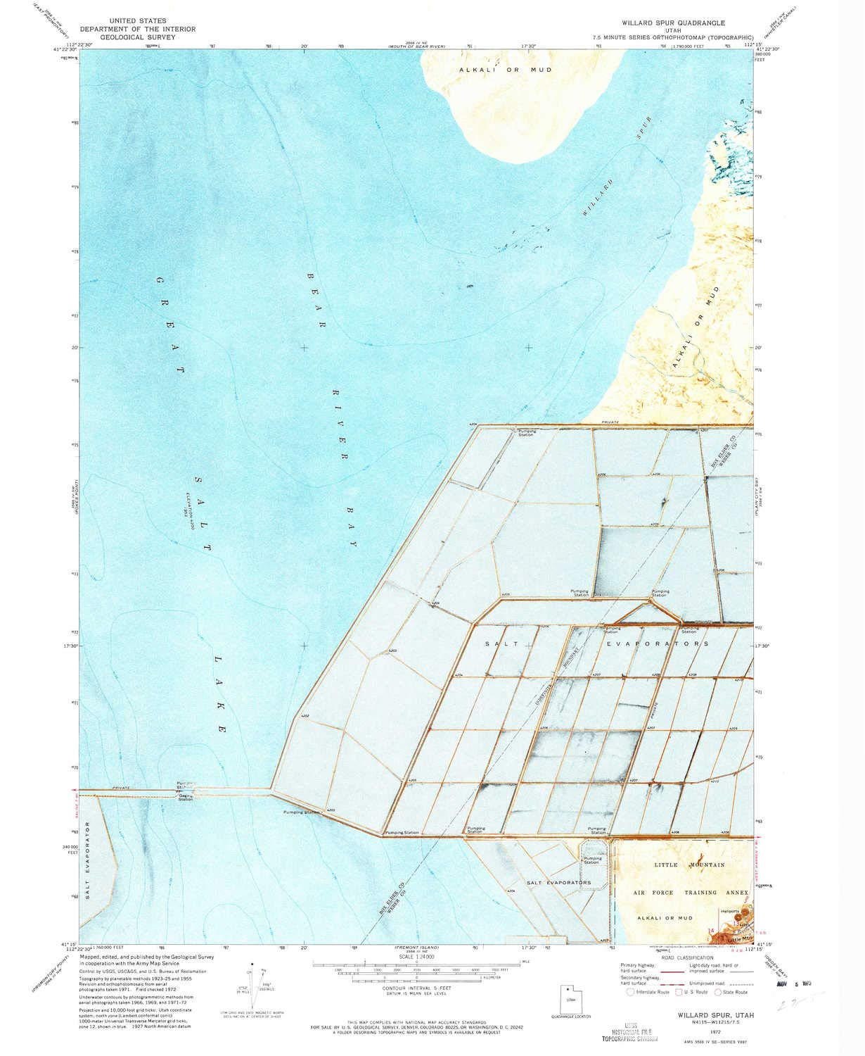 Amazon com : YellowMaps Willard Spur UT topo map, 1:24000