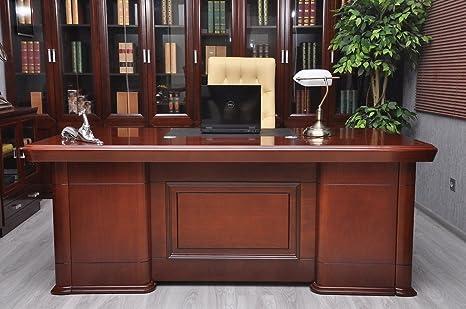 Arrediorg scrivania da ufficio senator metri amazon casa