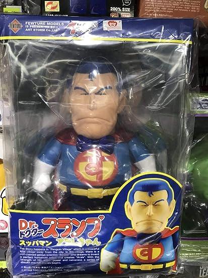 Slump Arale Superman Figure New Fewture Action Toys Gokin Dr