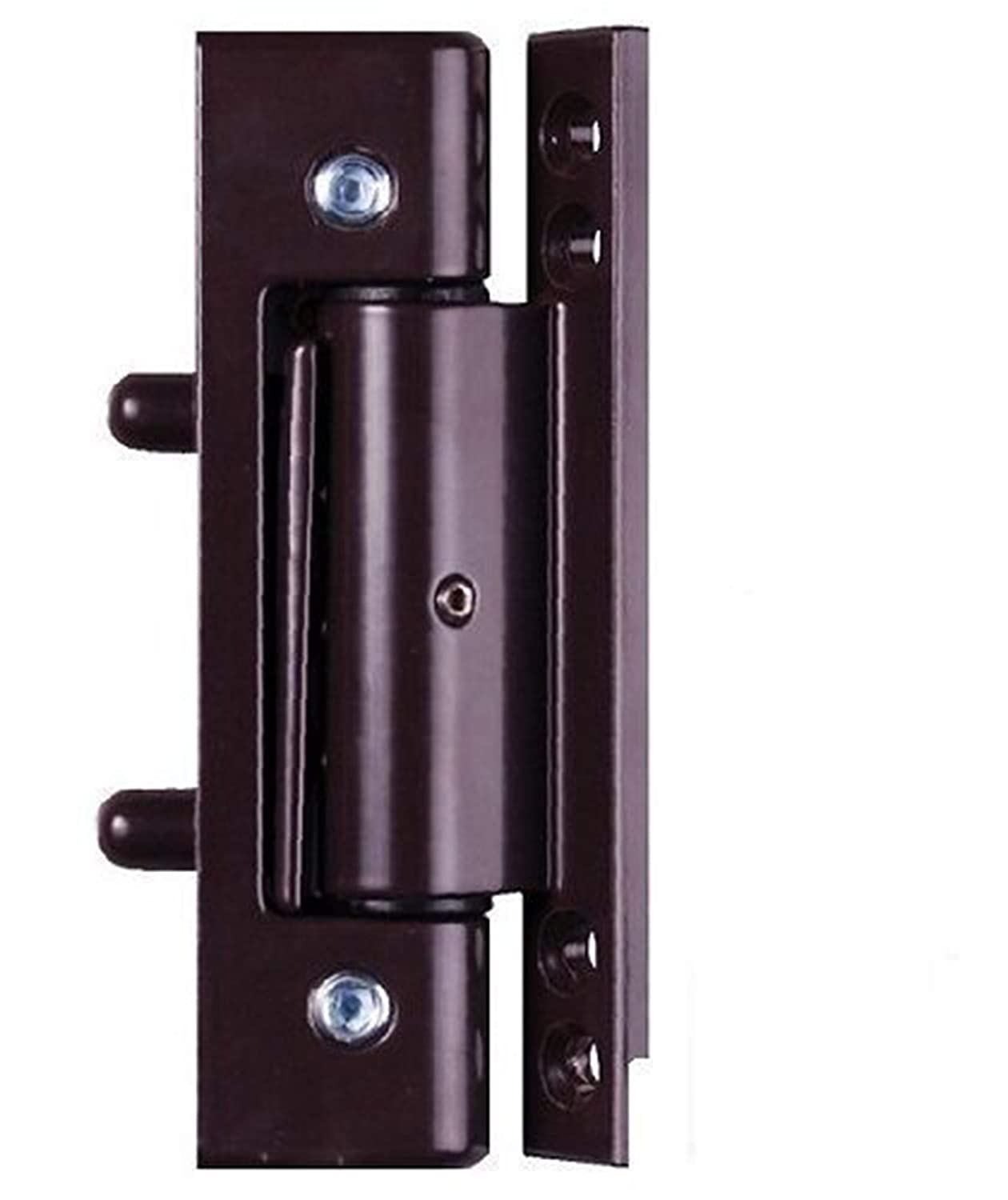 Brown uPVC Door Angled Butt Hinge - 115mm Hinge - Double Glazed Door Hinge Avocet