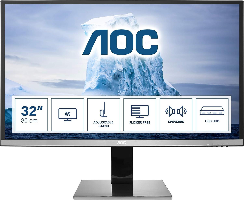 Aoc U3277pwqu 32 Zoll Uhd Monitor Höhenverstellbar Elektronik