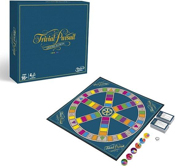 Hasbro Gaming Trivial Pursuit (Versión Española) (C1940105): Amazon.es: Juguetes y juegos
