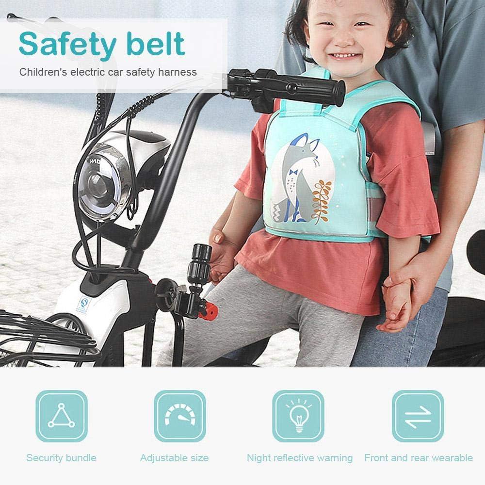 FOONEE Cinturón de Seguridad para niños para Motocicleta ...