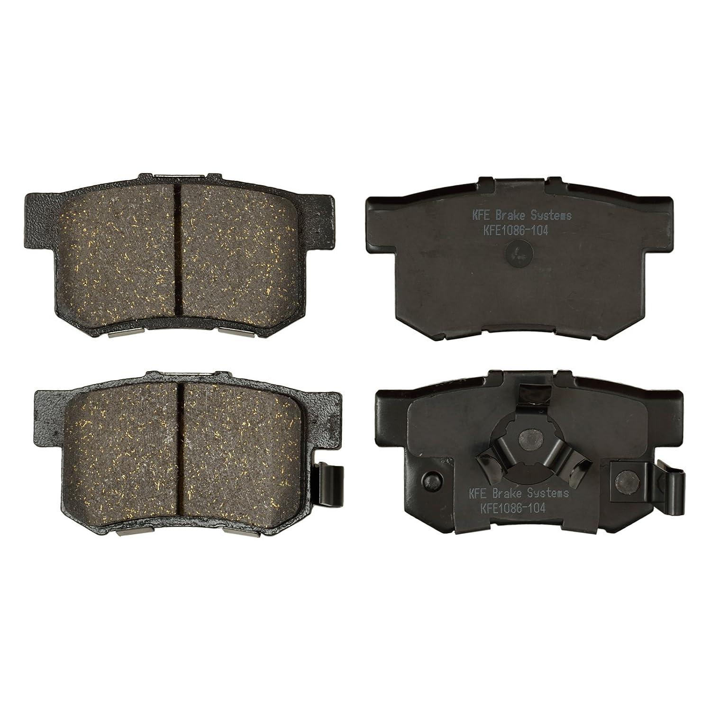 KFE Ultra Quiet Advanced KFE1086-104 Premium Ceramic REAR Brake Pad Set
