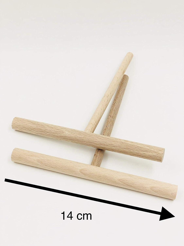 2 r/épartiteurs et 1 spatule en bois made in Jura Kit cr/êpes