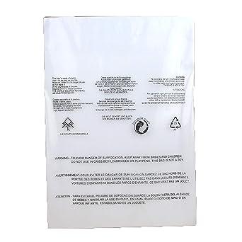 Amazon.com: SCHOLMART Bolsas de polietileno transparente con ...