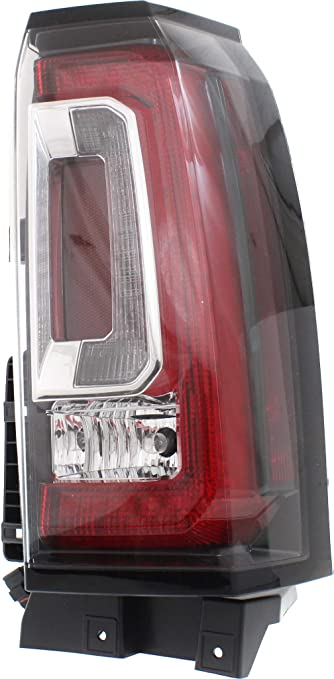 Tail Light Assembly Compatible with 2015-2018 GMC Yukon//Yukon XL Driver Side