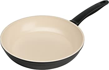 Kuhn Rikon Black Beige Ceramic Frying Pan