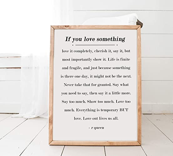 Amazoncom Inspirational Quote Story Book Sign If You Love
