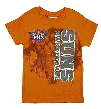 Phoenix Suns NBA niños jóvenes Extreme Logo camiseta de manga corta, Youth XX-Large