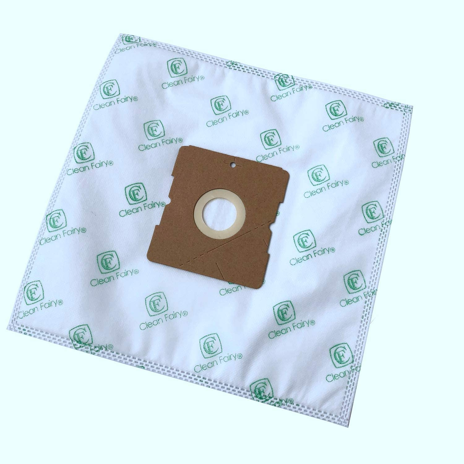CF Clean Fairy Vacuum Bags for Bissell 203-7270 Clean Along 48K2 Canister, Also Suitable for Samsung VC08, Severin BC 7045, BC 7055, BC 7055, 7058, Dirt Devil DD 7071-0 (15 Bags)