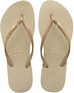 Havaianas Slim Animals, Chanclas Mujer, Multicolor (Sandgrey/Pink 5538), 29/30 EU (27/28 Brazilian)