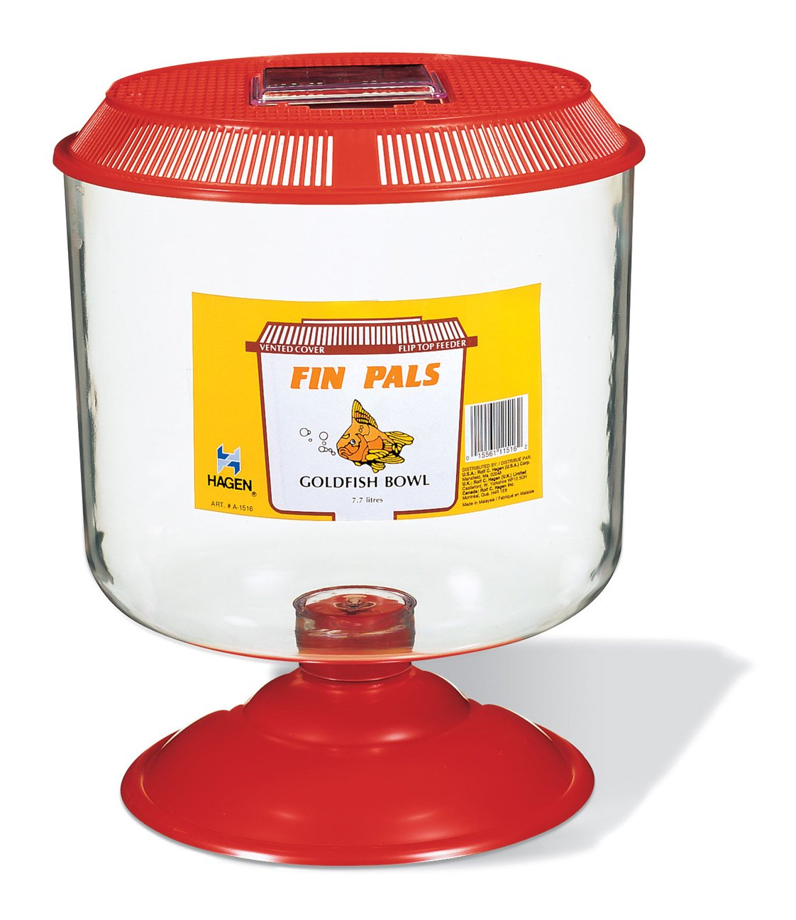 Amazon.com : Fin Pals Goldfish Bowl, Colors may vary : Fish Bowls ...