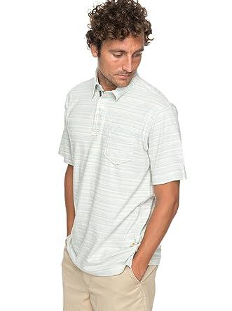 Quiksilver - Camiseta Polo - Hombre - XL - Azul: Quiksilver ...