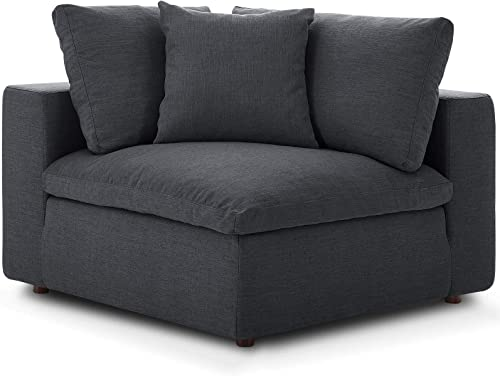 Modway Commix Down-Filled Overstuffed Upholstered Sectional Sofa Corner Chair