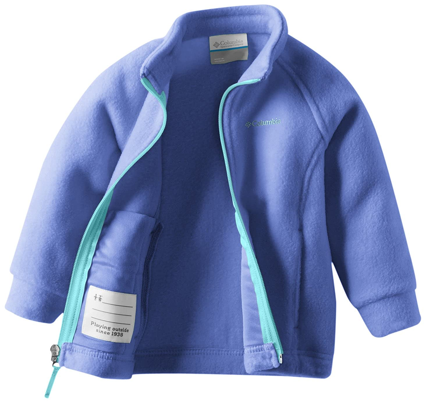 fe0a7ca27404 Amazon.com  Columbia Baby Girls  Benton Springs Fleece Jacket ...