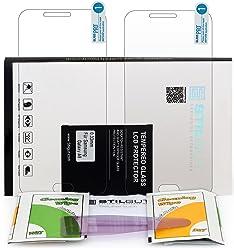 StilGut, pellicola protettiva ultraresistente in vetro temperato per Samsung Galaxy A8 (2 pezzi)