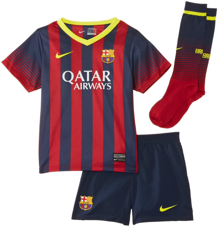 pretty nice fe6d7 0333e FC Barcelona Boys Mini Kit 2013/14 (Age 3-4 Years): Amazon ...