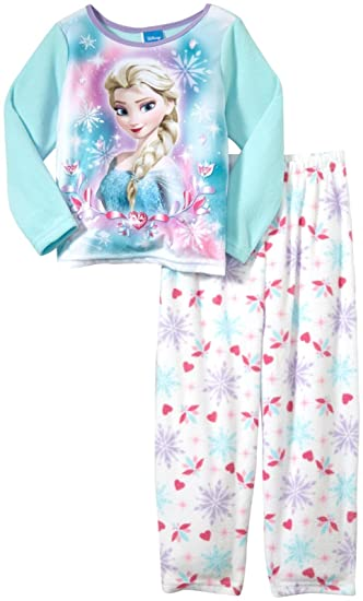 a54205645dc0 Amazon.com  Disney Little Girls  Frozen 2-Piece PJ Set (Toddler ...