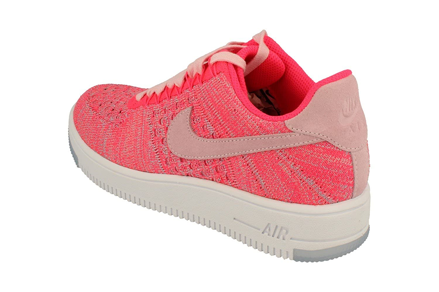 finest selection 37604 c89de Amazon.com   NIKE Womens Af1 Air Force 1 Flyknit Low Running Trainers 820256  Sneakers Shoes (UK 4 US 6.5 EU 37.5, Prism Pink 601)   Road Running