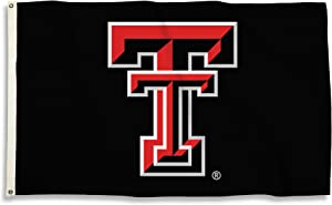 BSI NCAA College Texas Tech Red Raiders 3 X 5 Foot Flag with Grommets