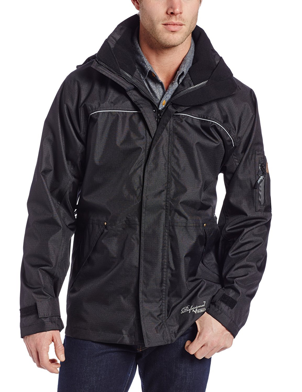 Viking Professional THOR Waterproof Industrial Jacket Black Large [並行輸入品] B078BQL9R3