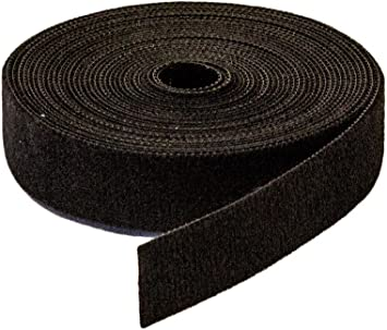 """1//2/"""" Roll Hook and Loop Reusable Cable Ties Wraps /& Straps 5M 15ft 2 Pack Lot"""