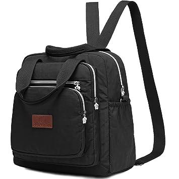 939e9b6e4b26 Travistar Backpack Handbag Backpack - Waterproof Nylon Lightweight Shoulder  Bags Messenger Cross Body Casual Daypack Multifunction
