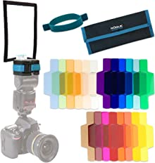 Rogue FlashBender 2 Bounce Card + Rogue Gels Universal 20 piece filter kit