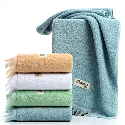 Juego de toallas de franela para la cara de Allure Bath Fashions de 35 x 75