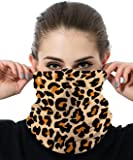 DOSWODE Seamless Face Mask Bandana - Face Covering Scarf - Multifunctional Headwear Headband Neck Gaiter - Sun UV Protection - Women Men