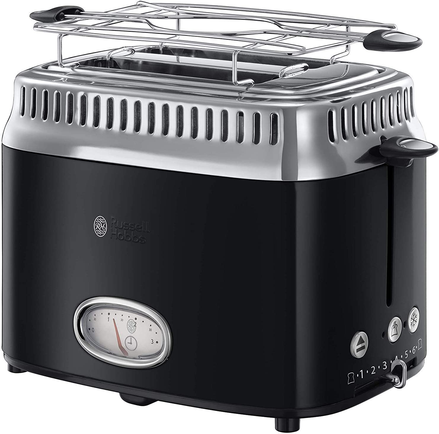 NEUF Russel Hobbs Verre Grille-pain 10617JP matin pain Japon