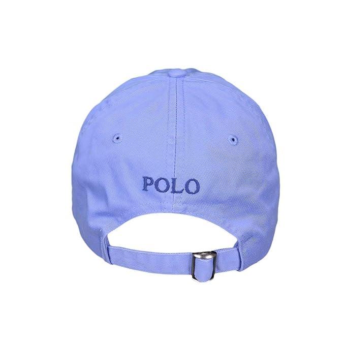 c2e7924923b2c2 Casquette basique Ralph Lauren bleu ciel pour mixte  Amazon.fr  Vêtements  et accessoires