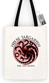 Game of Thrones House Targaryan Tote Bag
