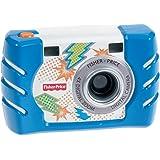 Fisher Price Kids Tough Digital Camera Slim Blue (W1459) by Mattel