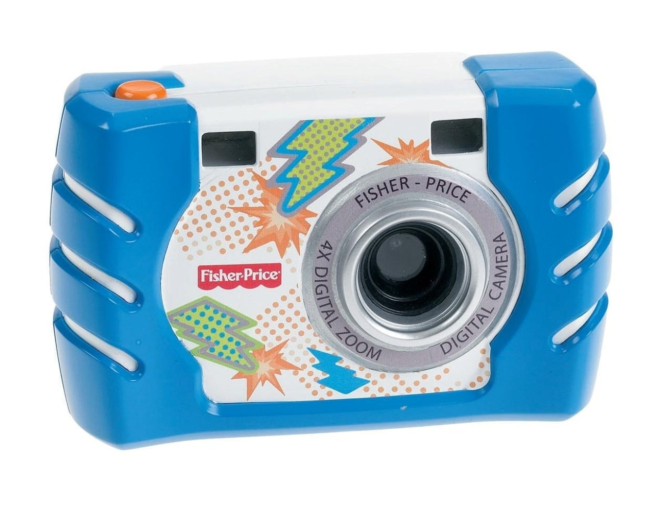 Fisher Price Kids Tough Digital Camera Slim Blue (W1459)