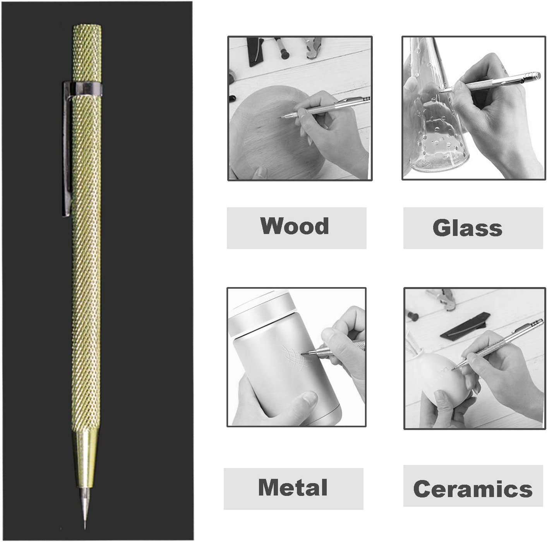 Pocket Scriber Hardened Steel Point Marker Tool For Plastic Glass Steel Brass